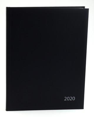 Darbo kalendorius 2020 m. A4 (juodas)