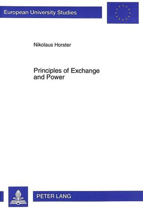Principles of Exchange and Power