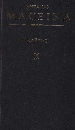 Raštai X tomas: Religijos filosofija