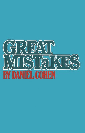 Great Mistakes
