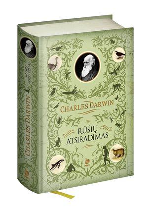 RŪŠIŲ ATSIRADIMAS:  pirmą kartą lietuviškai per 58 metus – Čarlzo Darvino magnum opus, reikšmingumu prilyginamas Šventajam Raštui + daugiau nei 60 istorinių graviūrų ir iliustracijų riboto tiražo leidime iš serijos AUKSINIS OBUOLYS