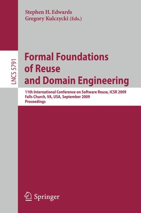 Formal Foundations of Reuse and Domain Engineering