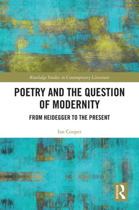 Poetry and the Question of Modernity
