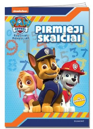 Paw Patrol. Šunyčiai patruliai. Pirmieji skaičiai