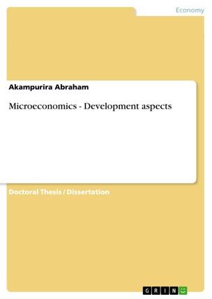 Microeconomics - Development aspects
