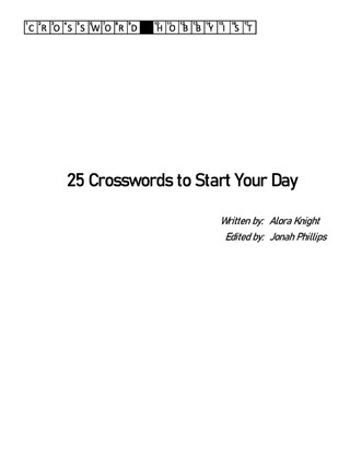 25 Crosswords to Start Your Day