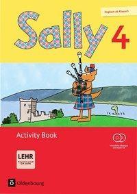 Sally 4. Schuljahr. Activity Book mit CD-ROM, CD und Portfolioheft. Allgemeine Ausgabe (Neubearbeitung) - Englisch ab Klasse 3