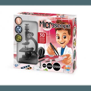 Mikroskopas 30 eksperimentų X100 / X600 / X1200
