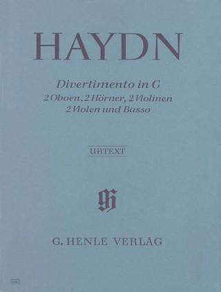Divertimento G-dur Hob. II:9 für 2 Oboen, 2 Hörner, 2 Violinen, 2 Violen und Basso