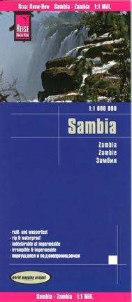 Reise Know-How Landkarte Sambia  1:1.000.000