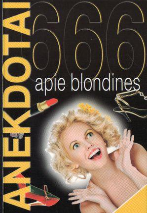 666 anekdotai apie blondines