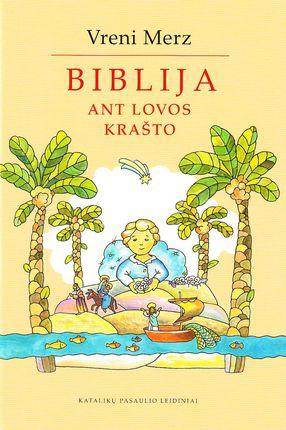 Biblija ant lovos krašto