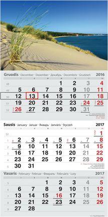 2017 metų kalendorius. Kopos