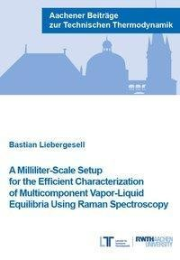 A Milliliter-Scale Setup for the Efficient Characterization of Multicomponent Vapor-Liquid Equilibria Using Raman Spectroscopy