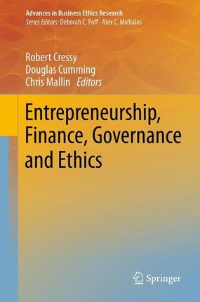Entrepreneurship, Finance, Governance and Ethics