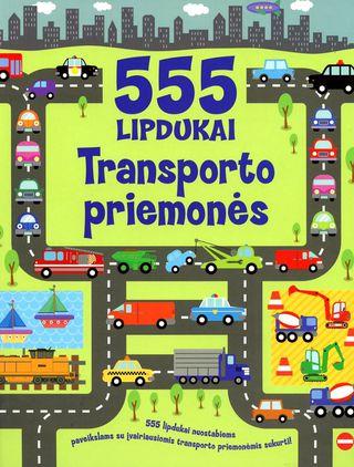 555 lipdukai. Transporto priemonės