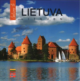 Lietuva. Litauen (lietuvių, norvegų kalba)