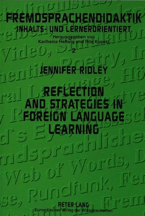 Reflection and strategies in foreign language learning