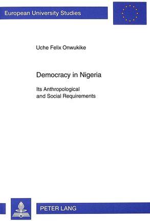 Democracy in Nigeria