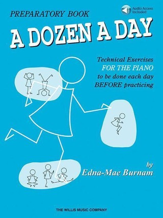 A Dozen a Day Preparatory Book - Book/Audio