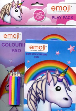 """Emoji"" coloring play pack"