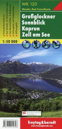 Großglockner - Sonnblick - Kaprun - Zell am See 1 : 50.000. WK 120