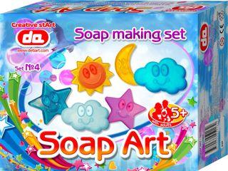 """""""Soap Art"""" muilo kūrybos rinkinys. Dangus"""