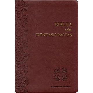 Biblija arba Šventasis Raštas. Ekumeninis leidimas. Lanksčiais viršeliais
