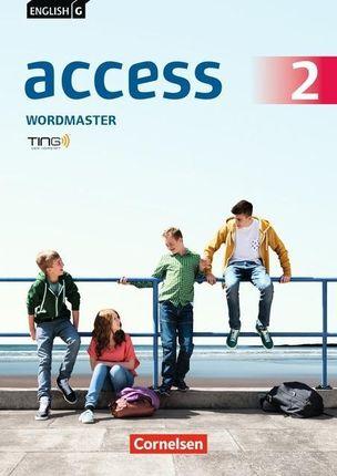 English G Access 02: 6. Schuljahr. Wordmaster mit Lösungen