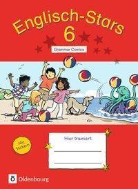 Englisch-Stars 6. Schuljahr - Übungsheft Grammar Comics