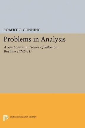 Problems in Analysis