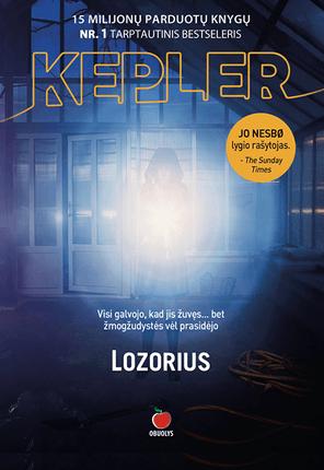 LOZORIUS: naujas Lars Kepler šedevras