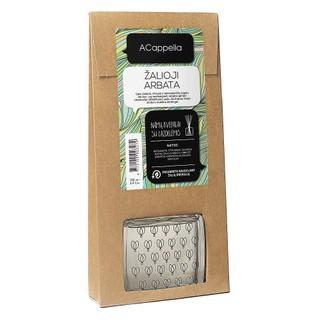 Namų kvapas su lazdelėmis ACappella Žalioji arbata, 100 ml