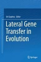 Lateral Gene Transfer in Evolution