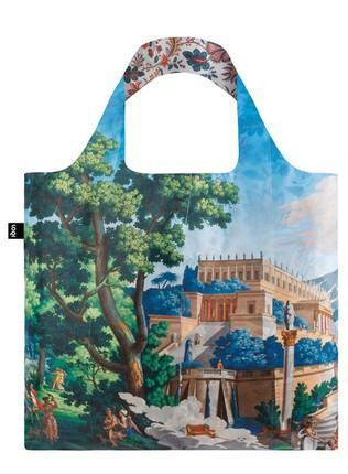 "LOQI dvipusis pirkinių krepšys ""Landscape & Indian Duo Bag"""