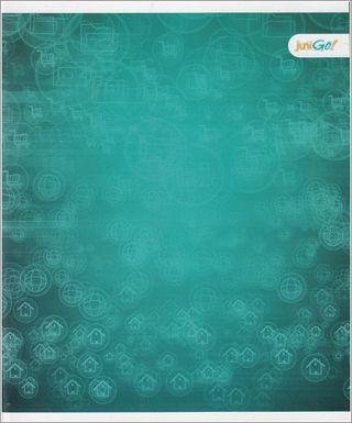 48 lapų sąsiuvinis langeliais (mėlynas)