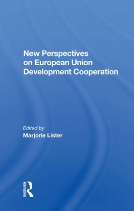 New Perspectives On European Development Cooperation
