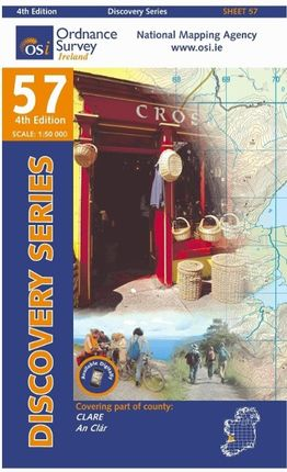 Irish Discovery Series 57. Clare 1 : 50 000