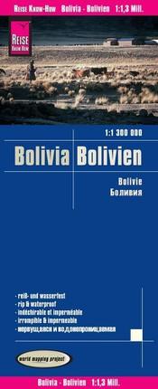 Reise Know-How Landkarte Bolivien 1 : 1.300.000