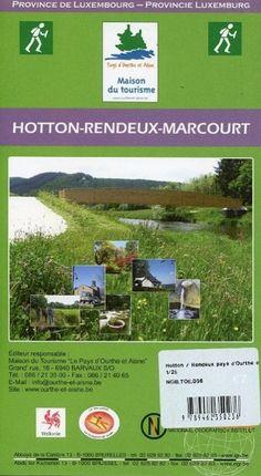 Hotton / Rendeux / Pays d`Ourthe et Aisne  1 : 25 000