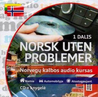 Norsk uten problemer. Norvegų kalbos audio kursas (CD+knygelė)