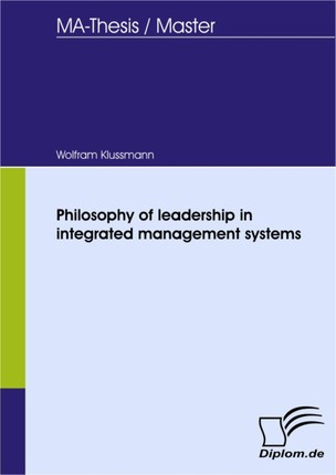 Philosophy of leadership in integrated management systems