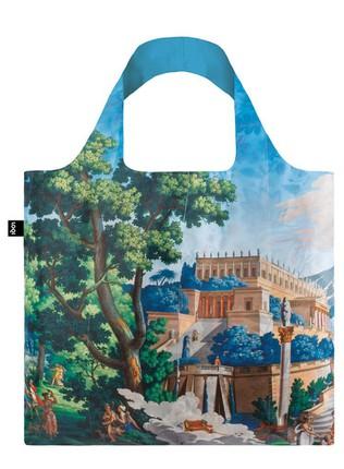 """LOQI pirkinių krepšys """"JOSEPH DUFOUR MANUFACTURE, Landscape of Telemaque in Calypso Island"""""""
