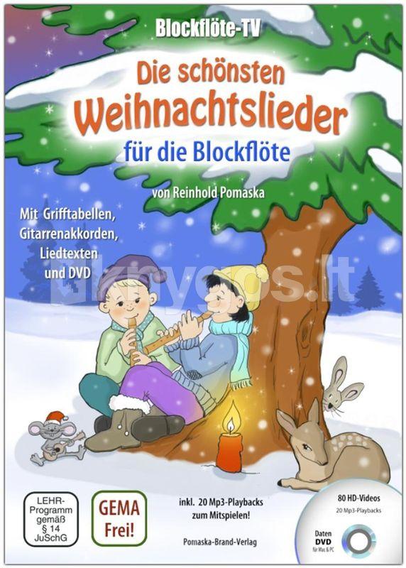 Die Schönsten Weihnachtslieder Texte.Knyga Blockflöte Tv Die Schönsten Weihnachtslieder Für Die