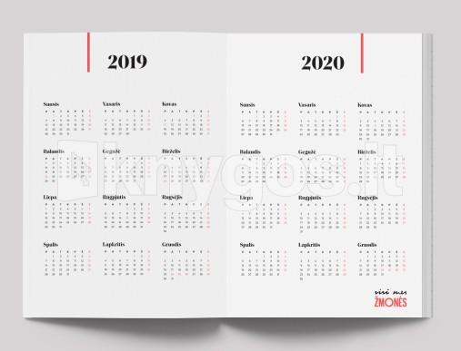 2020 Kalendorius.Darbo Kalendorius Visi Mes Zmonės 2019 Metams