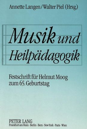 Musik und Heilpädagogik