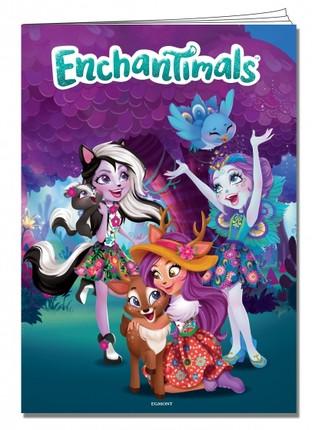 Enchantimals. Spalvinimo knyga