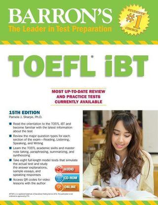 Barron's TOEFL iBT with CD-ROM and MP3 Audio-CD