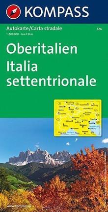Oberitalien / Italia Settentrionale 1 : 500 000