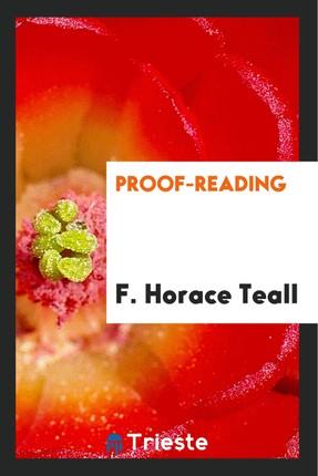 Proof-reading